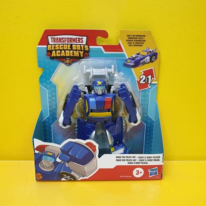 Immagine di Transformers - Action Figure Chase The Police-Bot - Rescue Bots