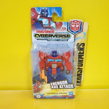 Immagine di Transformers - Action Figure Optimus Prime Energon Axe Attack - Cyberverse