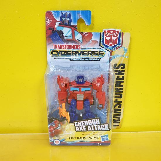 Immagine di Transformers - Action Figure Optimus Prime Energon Axe Attack - Cyberverse