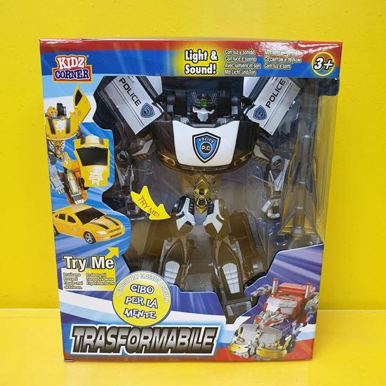 Immagine di Trasformabile - Action Figure Trasformabile Auto della Polizia