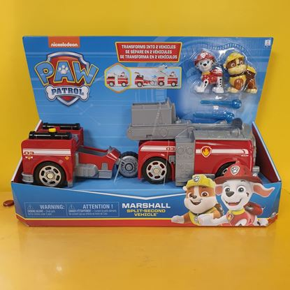 Immagine di Paw Patrol - Split Second Vehicle - Marshall