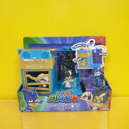 Immagine di PJMASKS - Trap & Escape Playset - Catboy & Romeo