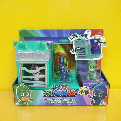 Immagine di PJMASKS - Trap & Escape Playset - Gekko & Night Ninja