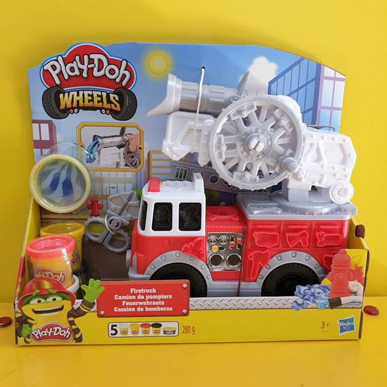 Immagine di Play-Doh Wheels - Camion dei Pompieri