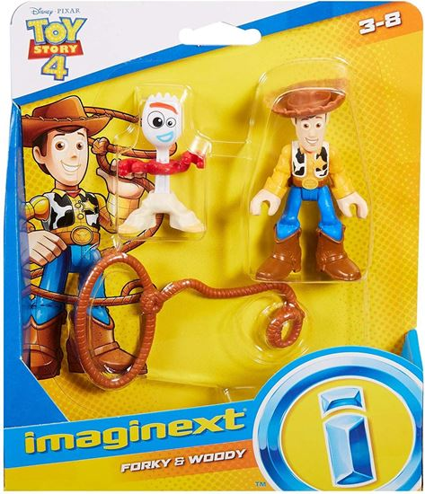Immagine di Toy Story 4 - Mini Action Figure Woody & Forky