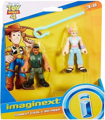 Immagine di Toy Story 4 - Mini Action Figure Bo Peep & Combat Carl
