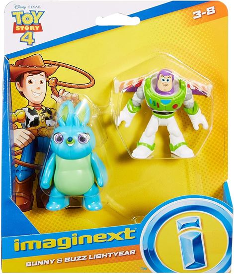 Immagine di Toy Story 4 - Mini Action Figure Bunny & Buzz Lightyear