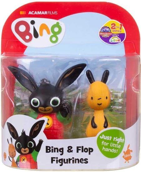 Immagine di BING - Coppia di mini Action Figure - Bing e Flop