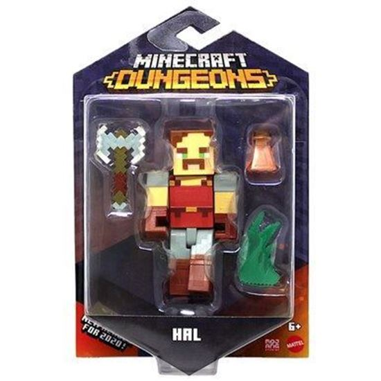 Immagine di MINECRAFT - Action Figure Minecraft Dungeons - Hal