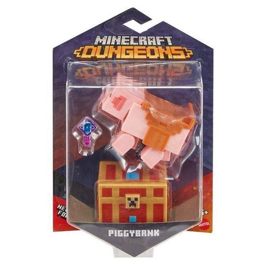 Immagine di MINECRAFT - Action Figure Minecraft Dungeons - Piggybank