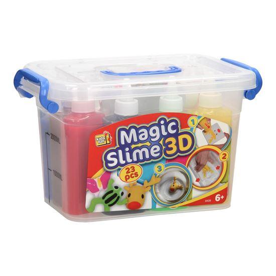 Immagine di Set da Gioco Magic Slime 3D - 23 Pezzi