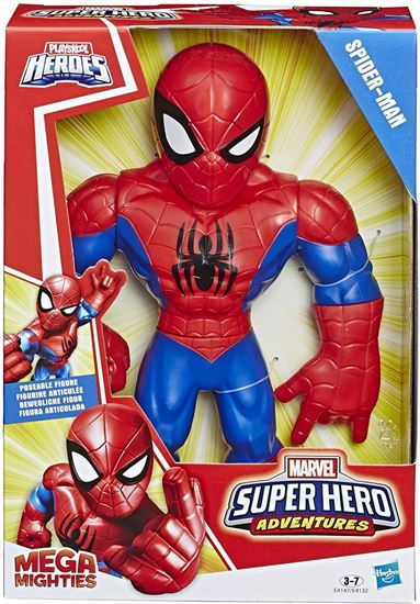 Immagine di Playskool Heroes Mega Mighties - Marvel Super Heroe Adventures - Spider-Man