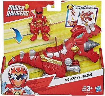 Immagine di Playskool Heroes - Power Rangers Red Ranger & T-Rex Zord
