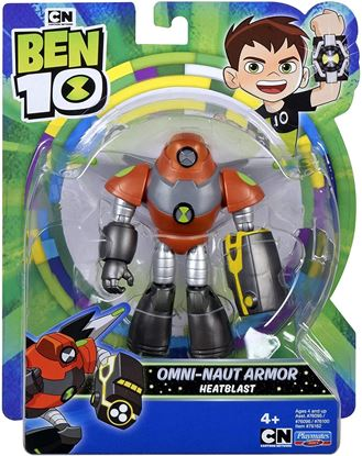 Immagine di Action Figure - Ben Ten - Heatblast