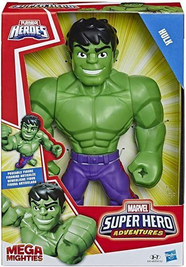 Immagine di Playskool Heroes Mega Mighties - Marvel Super Heroe Adventures - Hulk