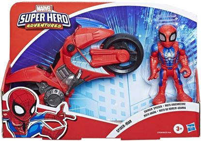 Immagine di AVENGERS - Spiderman Mini Motorcycle - Super Hero Adventures