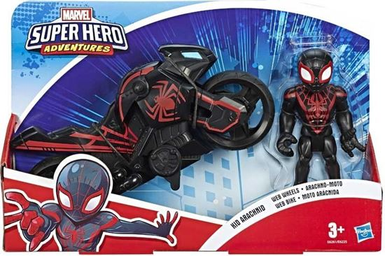 Immagine di Marvel - Kid Arachnid Mini Motorcycle - Super Hero Adventures