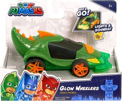 Immagine di Pj Masks - Glow Wheelers - Gekko Mobile