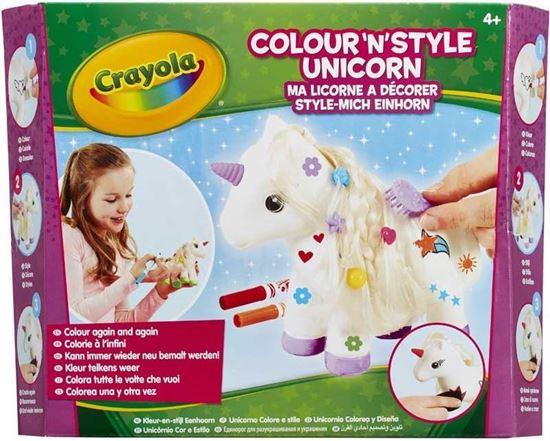 Immagine di Giochi Bimba - Crayola Colour N Style Unicorn - Set Creativo