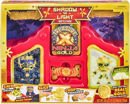 Immagine di Treasure X Ninja Gold - Shadow VS. Light Battle Pack