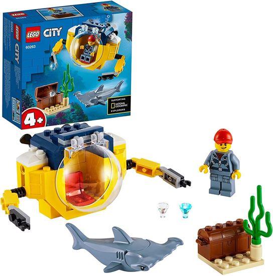 Immagine di LEGO City - Mini Sottomarino Oceanico