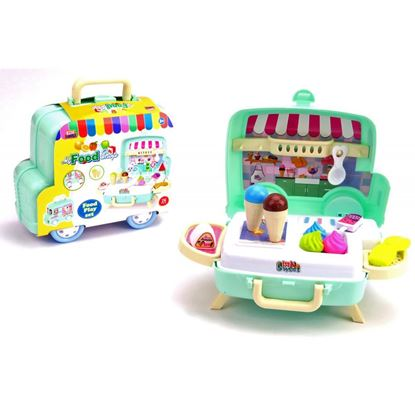 Immagine di Camioncino Ice Cream 26 accessori playset