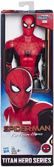 Immagine di AVENGERS - Action Figure Spiderman Away from Home - Titan Hero Series (30cm)
