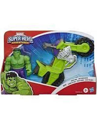 Immagine di AVENGERS - Hulk Mini Motorcycle - Super Hero Adventures