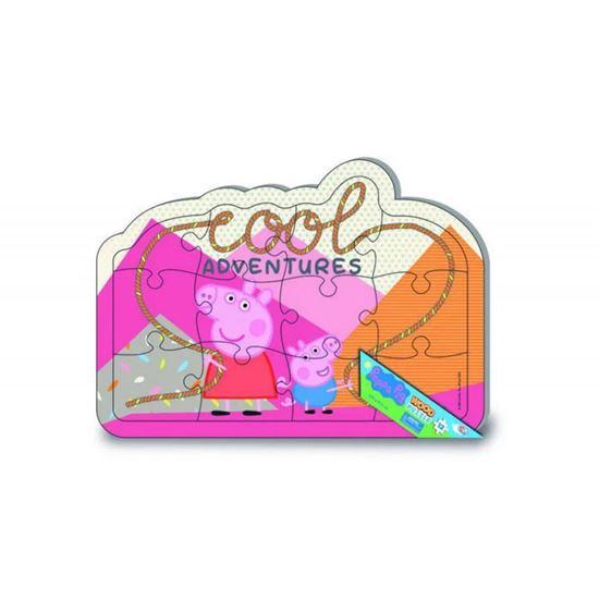 Immagine di Peppa Pig - Puzzle in Legno 12 Pezzi