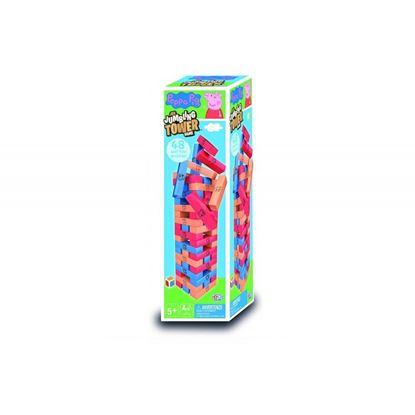 Immagine di Peppa Pig - Gioco della Torre in Legno