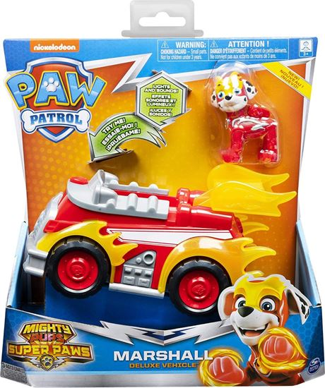 Immagine di Paw Patrol - Mighty Pups Vehicles - Marshall