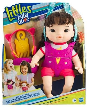 Immagine di Littles Baby Alive - Carry and Go - Iris